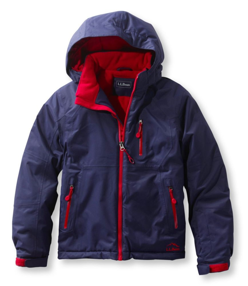 photo: L.L.Bean Boys' Glacier Summit Waterproof Jacket