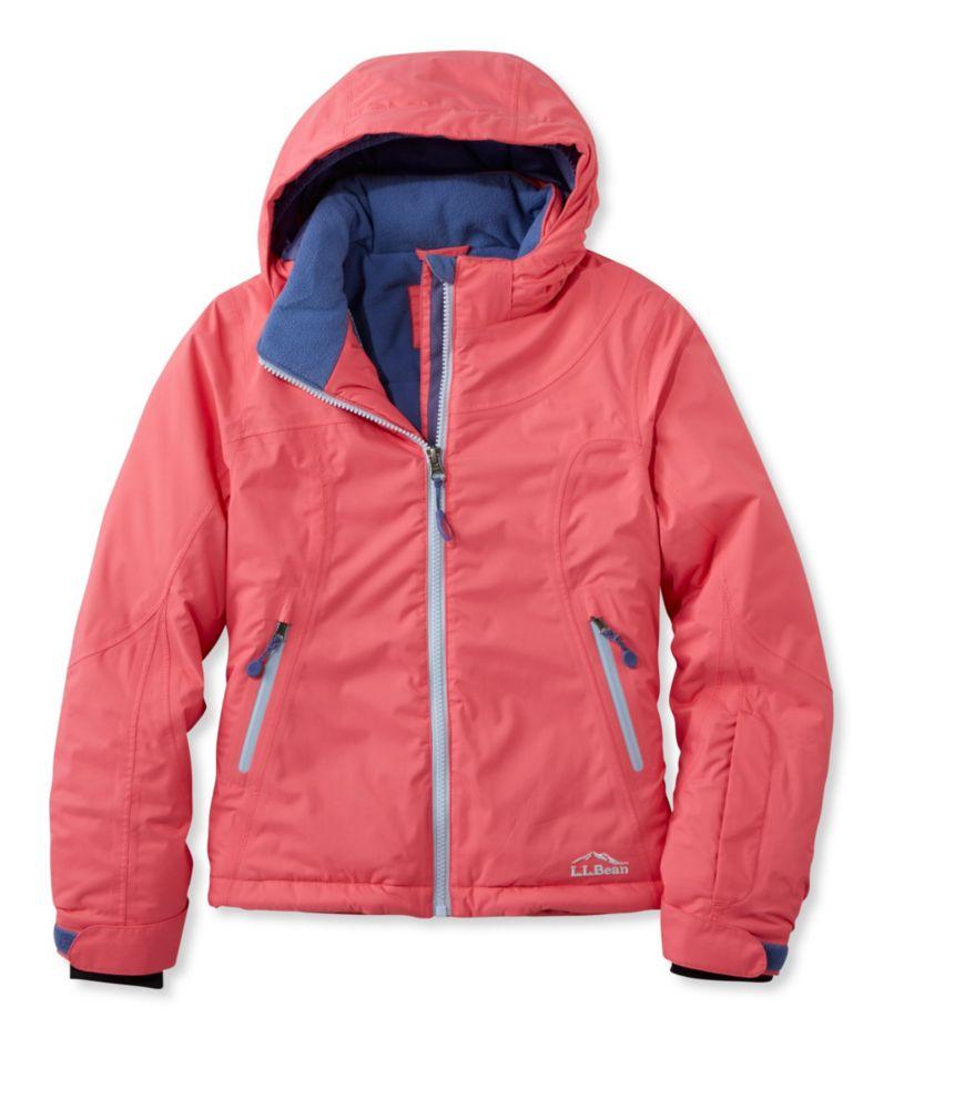 photo: L.L.Bean Girls' Glacier Summit Waterproof Jacket