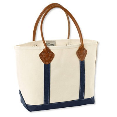 Leather Handle Boat and Tote II