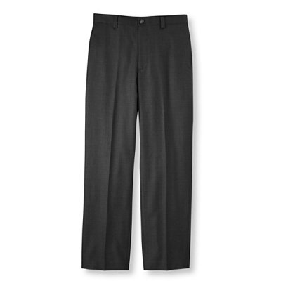 Year-Round Wool Trousers, Classic Fit Plain Front
