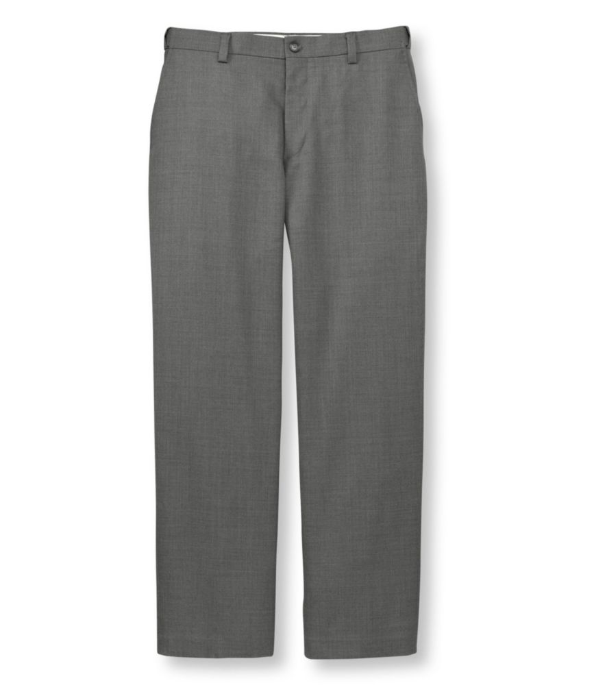 photo: L.L.Bean Year-Round Wool Trousers
