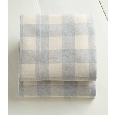 Ultrasoft Comfort Flannel Sheet, Flat Plaid