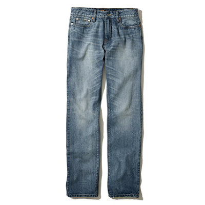 Signature Five-Pocket Jean, Slim Straight