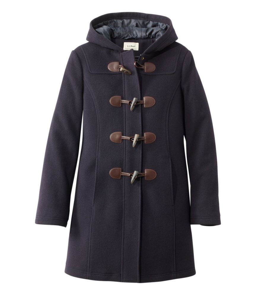 photo: L.L.Bean Classic Lambswool Duffel Coat wool jacket