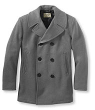 Authentic Wool Peacoat