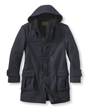Authentic Wool Duffel Coat