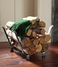 Hearthside Log Rack