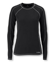 Power Dry Stretch Base Layer, Midweight Long-Sleeve Crew