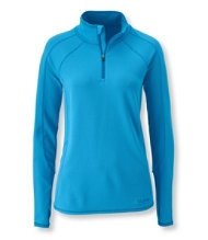Power Dry Stretch Base Layer, Midweight Quarter-Zip