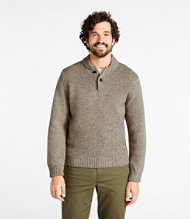 Bean's Classic Ragg Wool Henley Sweater
