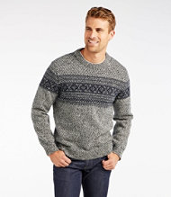 Norwegian Sweater, Crew Pattern