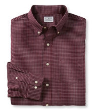 Wrinkle-Resistant Mini-Check Shirt, Slightly Fitted