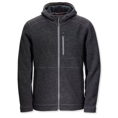 Wool Tek Hooded Jacket