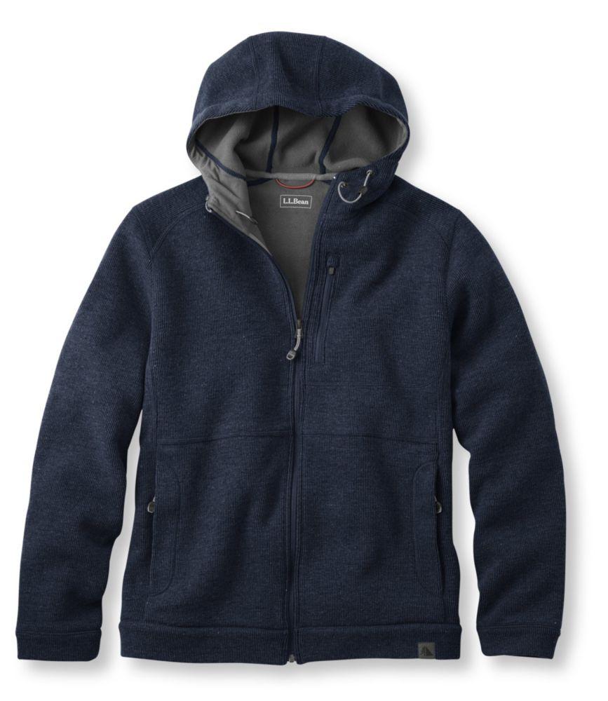 photo: L.L.Bean Wool Tek Hooded Jacket