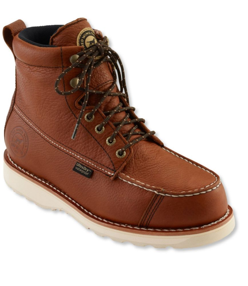 photo of a Red Wing backpacking boot