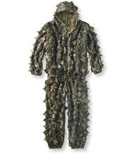 3-D Leafy Ghillie Suit