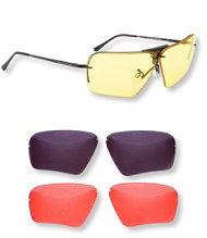 Randolph USA Ranger Edge Shooting Glasses, Skull Style
