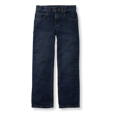 Boys' Double L Jeans, Straight-Leg