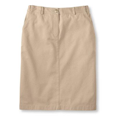 Bayside Twill Skirt, Classic Fit Hidden Comfort Waist