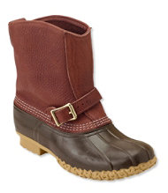 Men's Tumbled-Leather L.L.Bean Boots, 9