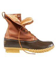 Women's Tumbled-Leather L.L.Bean Boots, 8