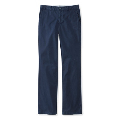 Washed Sateen Pants, Straight Leg