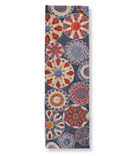 Easy-Care Hooked Suzani Rug, 2'3