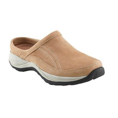 Women's Comfort Mocs, Leather Slide