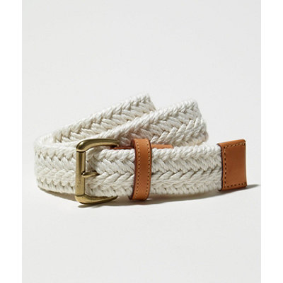 Linen Braided Belt
