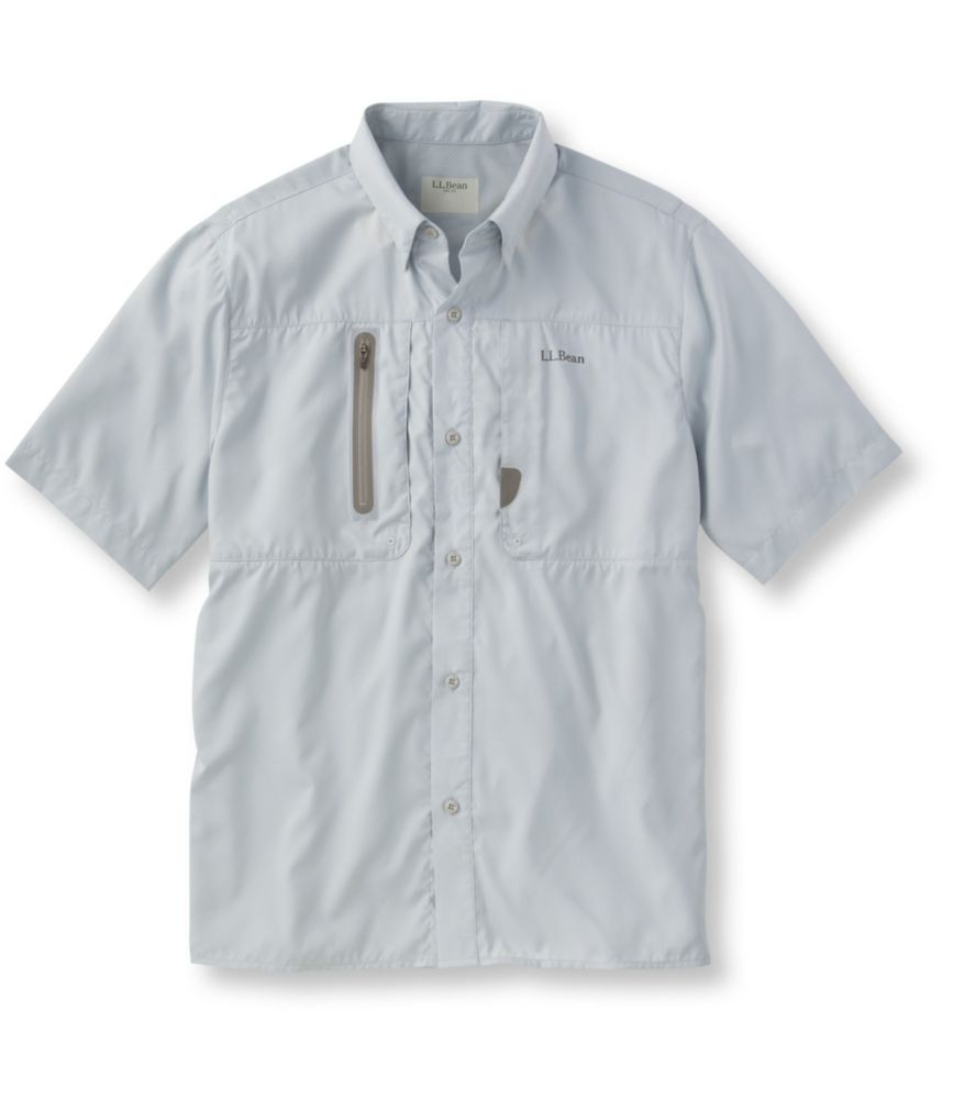 L.L.Bean Rapid River Technical Fishing Shirt, Short-Sleeve