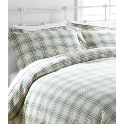 Ultrasoft Comfort Flannel Sham, Windowpane