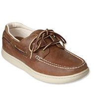 Men's Lakeside Boat Shoes, Three-Eye