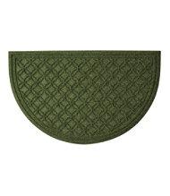 "Locked Circles Crescent Doormat, Large 70"" x 40"""