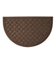 Locked Circles Crescent Doormat, Medium