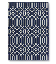 Indoor/Outdoor Easy-Care Rug, Geo Print