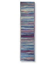 Bean's Braided Wool Runner, Horizontal Braid