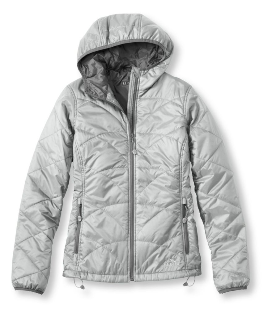 photo: L.L.Bean Women's Ascent Packaway Hooded Jacket synthetic insulated jacket