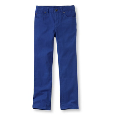Girls' Stretch Twill Pants