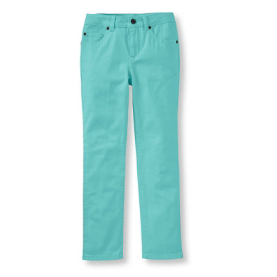 Girls' Stretch Twill Pants