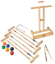 Maine Coast Croquet with Stand Set
