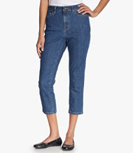 True Shape Jeans, Slim-Leg Capris