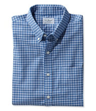 Wrinkle-Resistant Kennebunk Sport Shirt, Slightly Fitted Check