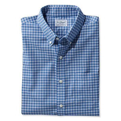 Wrinkle-Resistant Kennebunk Sport Shirt, Slim Fit Check