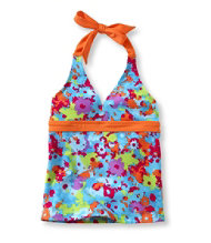 Girls' BeanSport� Halter Top, Print