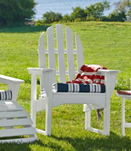 All-Weather Upright Adirondack Chair