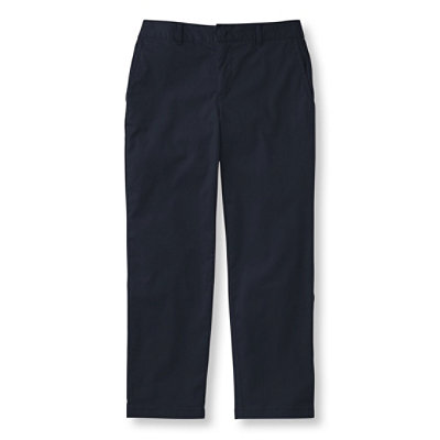 Washed Chinos, Slim-Leg Capris