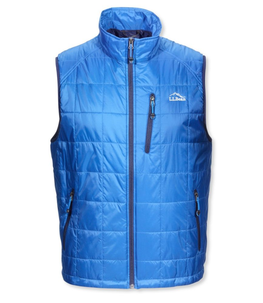 photo: L.L.Bean Men's Ascent Packaway Vest synthetic insulated vest