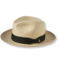 Center Dent Panama Straw Hat