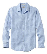 Bean's Linen Shirt, Slightly Fitted