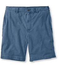 Tropic-Weight Chino Shorts, Natural Fit Plain Front